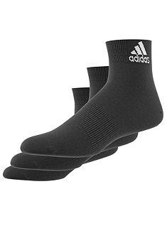 adidas Performance Krátke ponožky unisex (3 páry)