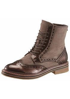 Marco Tozzi Šnurovacia zimná obuv