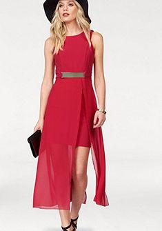 Melrose dzsörzé ruha áttetsző sifon szoknyarésszel