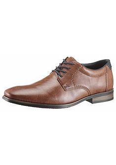 Rieker műbőr fűzős cipő bőr talpbetéttel