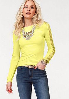 Melrose Tričko s dlhými rukávmi, sieťový vklad na rukávoch