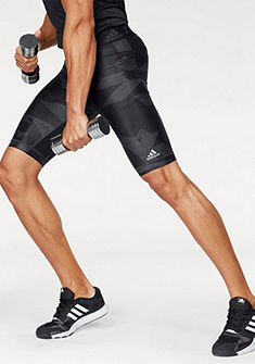 adidas Performance funkcionális rövidnadrág »TECHFIT CHILL SHORT TIGHTS PRINT«
