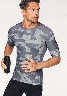 adidas Performance Sportovní tričko »TECHFIT CHILL SHORT SLEEVE TEE PRINT«