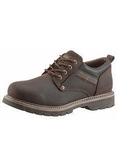 Dockers by Gerli fűzős bőr cipő bélelt felsőrésszel