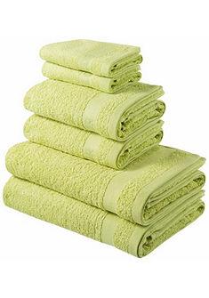 Set ručníků »Toni« s jemnou bordurou značky Tom Tailor