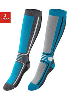 Apollo Unisex Dětské lyžařské ponožky z froté (2 páry)