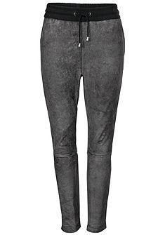 RICK CARDONA by heine Kožené kalhoty jehněčí kůže s elastickým pasem na šnúrku