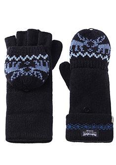 Dámské krojové rukavice s originálním pleteným vzorem