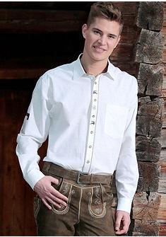 OS-Trachten Krojová košile ve venkovském stylu