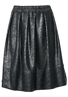 RICK CARDONA by heine Koženková sukně s elastickým pasem