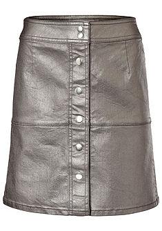 RICK CARDONA by heine Koženková sukně s patentky