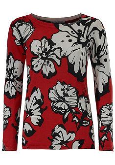 ASHLEY BROOKE by heine Vzorkovaný pulóver - kvetinový dizajn