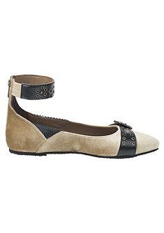 XYXYX balerina cipő bokapánttal