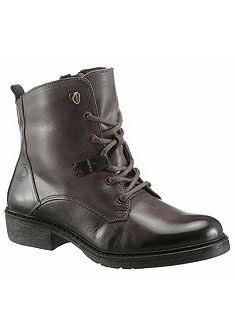 Be Natural Šnurovacie topánky vysoké