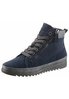 Jana fűzős magasszárú cipő