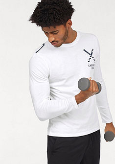 Reebok Tričko s dlouhými rukávy »REEBOK CROSSFIT PATRIOTIC LONGSLEEVE TEE - US«