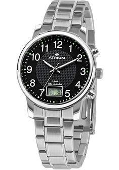Atrium Rádiom riadené náramkové hodinky »A25-31«