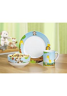 Esmeyer Dětská jídelní sada, 3-dílná porcelánová sada »SUNNY«