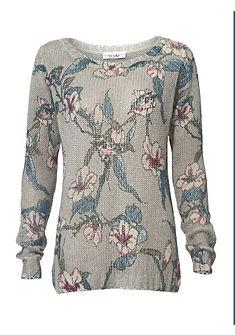 LINEA TESINI by heine Vzorkovaný pulóver z mäkkého pleteného materiálu