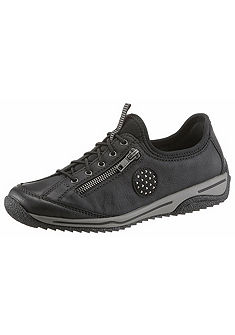 Rieker Nazúvacie topánky s dekoratívnym zipsom
