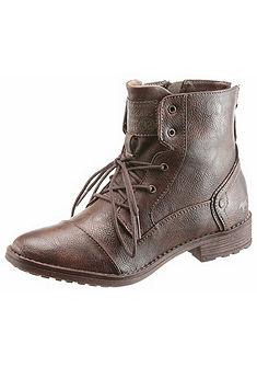 Mustang Shoes Šnurovacie topánky, zips na päte