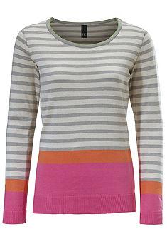 B.C. BEST CONNECTIONS by heine Proužkový pulovr s kulatým výstřihem