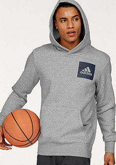 adidas Performance Mikina s kapucí »ESSENTIALS CHEST LOGO PULLOVER HOOD FLEECE«