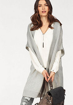 Laura Scott Dlhá pletená vesta, pohodlný strih
