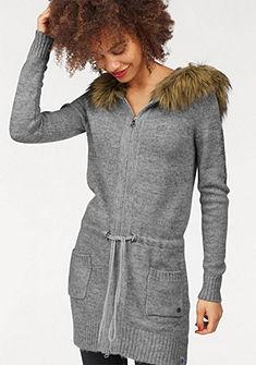 KangaROOS Pletený svetr s kapucí