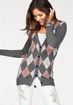 AJC Dlhý pletený sveter