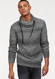 John Devin sál nyakú pulóver