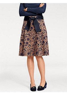 ASHLEY BROOKE by heine Formujúca vzorkovaná sukňa s efektom brúško preč