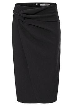 ASHLEY BROOKE by heine Elastická sukně v zavinovacím vzhledu