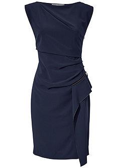 ASHLEY BROOKE by heine Pouzdrové šaty s volánkem