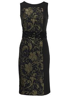 ASHLEY BROOKE by Heine egyenes szabású ruha jacquard mintával