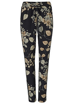 ASHLEY BROOKE by heine Vzorované kalhoty - květinový design