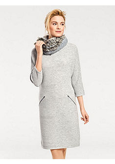 B.C. BEST CONNECTIONS by heine Pletené šaty s 3/4 rukávy