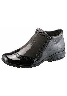 Rieker Zimná obuv, dierkovaný vzor