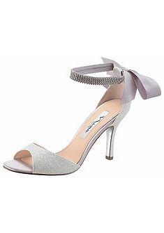 Nina Páskové sandále, pekné lesklé detaily