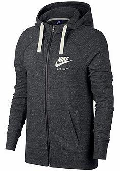 Nike kapucnis hosszú ujjú felső »WOMEN NSW GYM VINTAGE HOODIE FULLZIP«