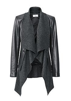 RICK CARDONA by Heine bőrdzseki, bőrdzseki, sertésbőr átváltoztatható bőr rövid dzsekivé
