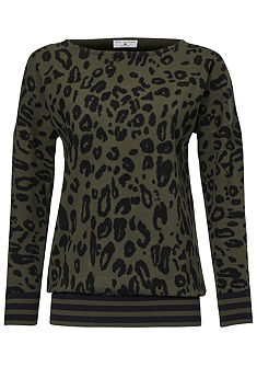 RICK CARDONA by heine Vzorovaný pulovr s potiskem