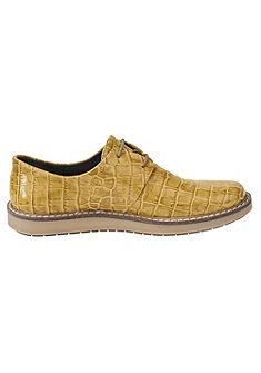 Heine Šněrovací topánky, vzhled: krokodýlí vzor