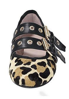 Heine Ballerina leopárd mintával