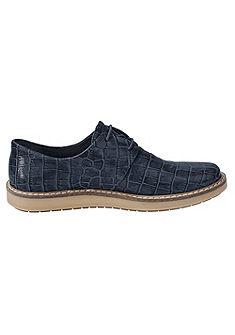Heine fűzős cipő krokodil mintával
