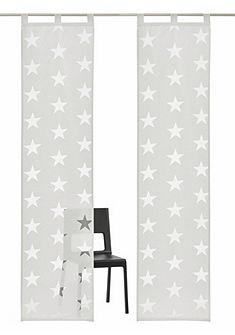 Krátka záclona, My Home Selection »Sassari« (2 ks s príslušenstvom)