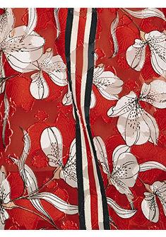 RICK CARDONA by Heine nyomott mintás póló megkötővel a kivágásnál
