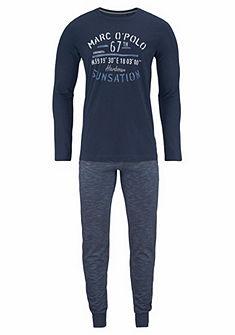 Marc O'Polo hosszú nyomott mintás pizsama