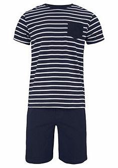 Jockey Pruhované krátké pyžamo