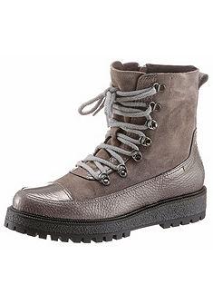 Manas Šnurovacie topánky vysoké, hutný dizajn